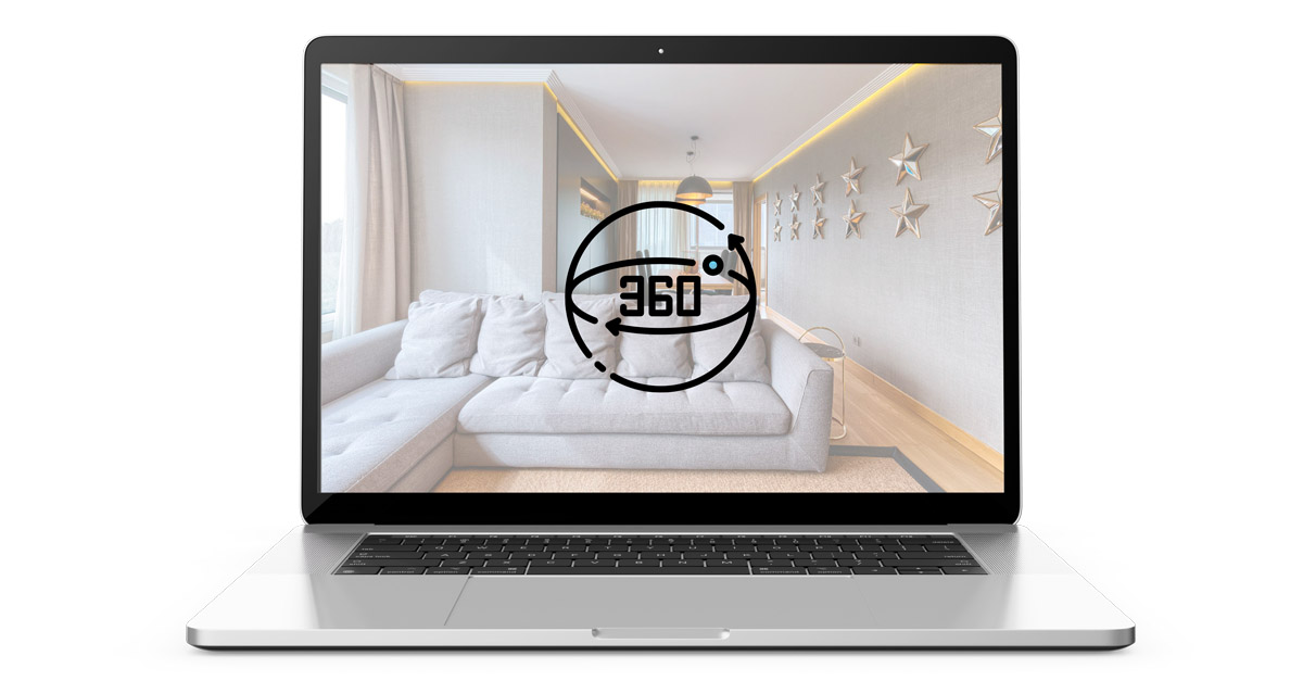 visita virtual 360º vender piso